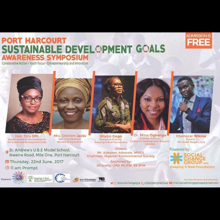 Port Harcourt SDGs AwarenessSymposium