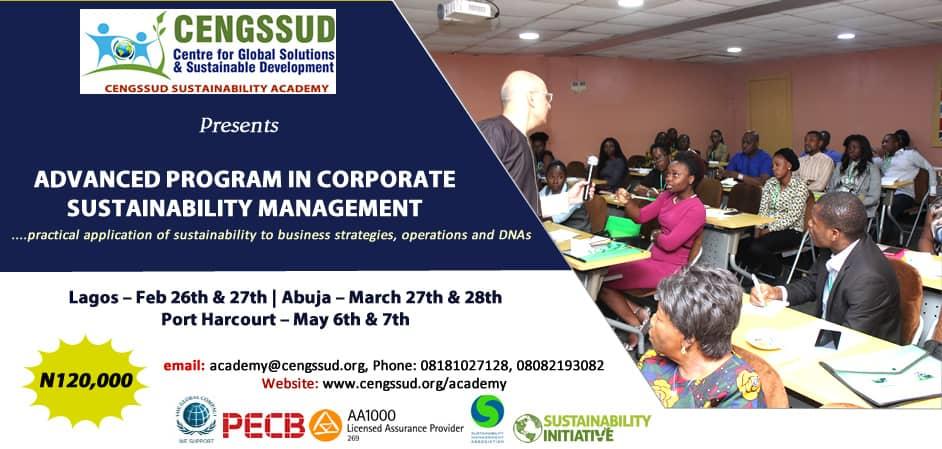 Advanced Program in Corporate SustainabilityManagement