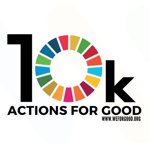 10,000 Actions For Good: The #SDG17 Way