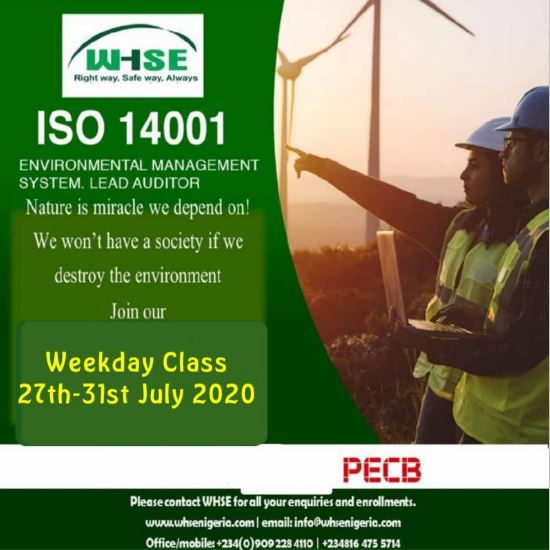WHSE ISO 14001